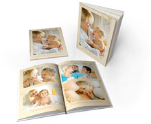 Livre photo A4 Portrait  rigide