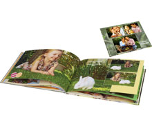 Livre photo A5 panorama rigide