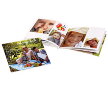 Livre photo A5 panorama souple