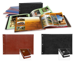 Livre photo XXL panorama simili cuir
